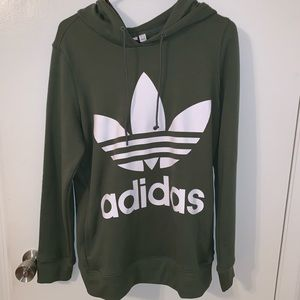 Women's adidas hoodie oversized size small